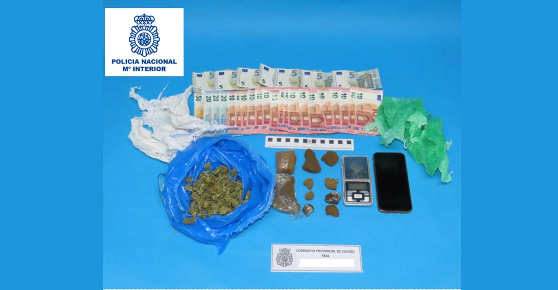 La Policía Nacional desarticula un grupo criminal que distribuía droga en Ciudad Real utilizando el reparto de comida a domicilio como tapadera
