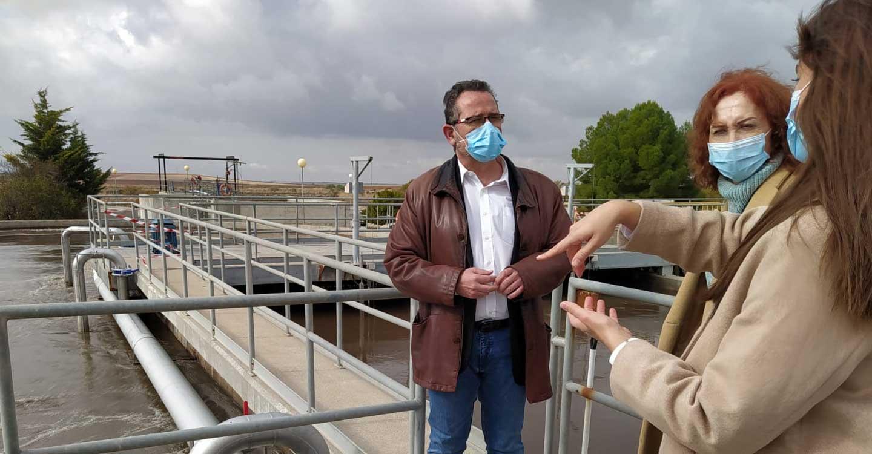 395.000 € para obras de mejora de la Eficiencia Energética de las Instalaciones de Depuración de Agua Residual y Planta Potabilizadora de Agua de  La Solana