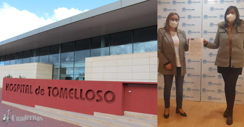 Los concejales del PP de Argamasilla de Alba piden a los vecinos que firmen la petición de implantar la UCI en el Hospital de Tomelloso