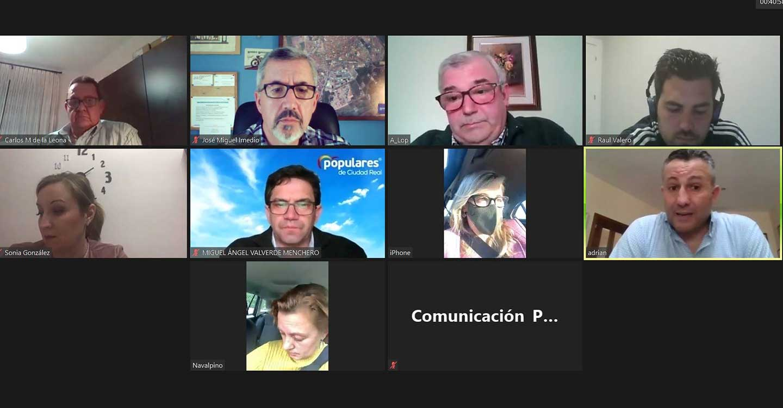 Los alcaldes y portavoces del PP en la Comarca de Cabañeros denuncian que el abandono de  los gobiernos socialistas de España y Castilla-La Mancha ha perjudicado a esta comarca