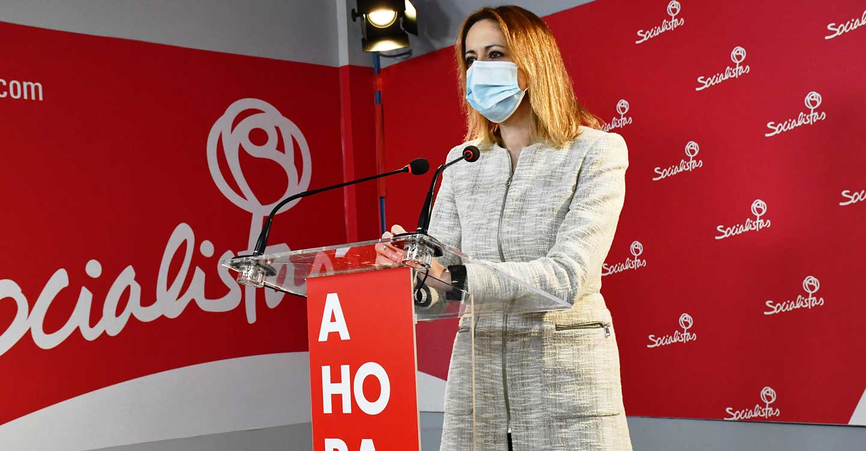 """Cristina Maestre: """"El PP va con los pies a rastras, respecto al Hospital de Toledo, acomplejado por su destrozo en los cuatro años de Gobierno"""""""