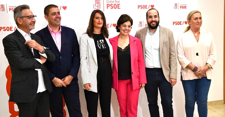 Las candidaturas al Senado y el Congreso del PSOE de Ciudad Real, a las elecciones generales, garantizan el futuro y el progreso de la provincia