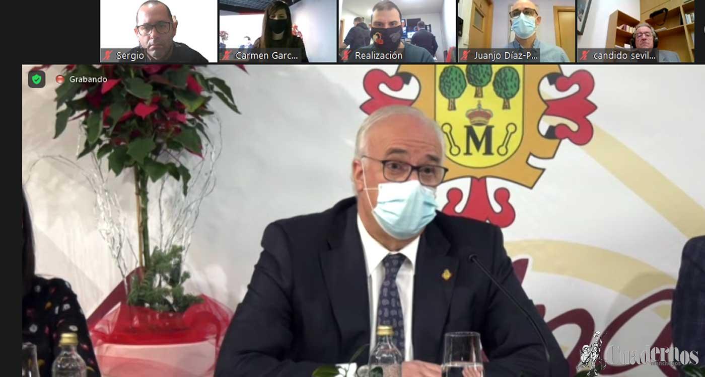 """El alcalde anuncia un presupuesto """"expansivo"""" de más de 20 millones de euros para 2021"""
