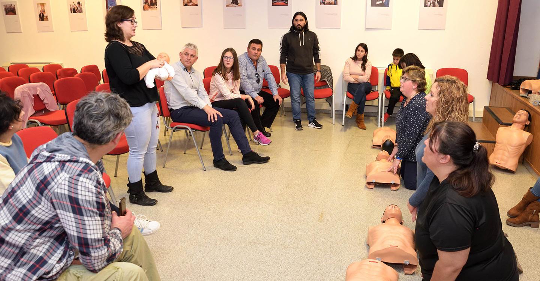 El área de Educación y Protección Civil organizan siete talleres de primeros auxilios y RCP en la localidad de Argamasilla de Alba