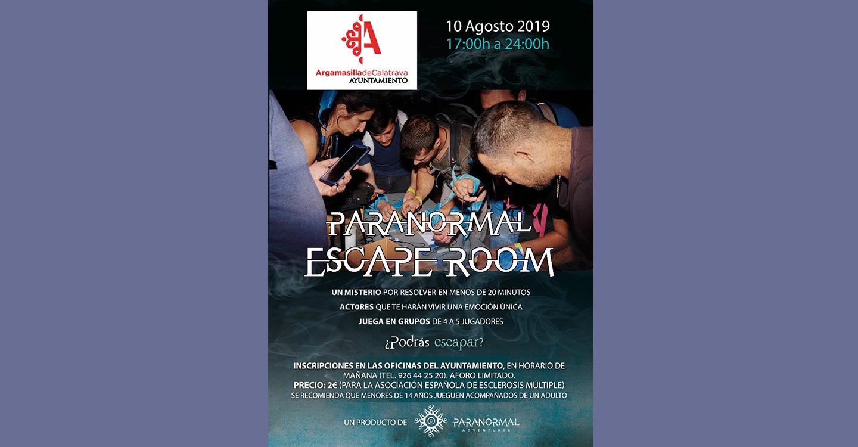 Programada para el 10 de agosto la Paranormal Escape Room, que se sale de lo común