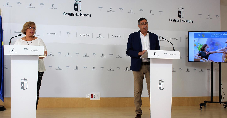 El Gobierno de Castilla-La Mancha mantiene los protocolos para dar seguridad a los 96.620 alumnos y 7.986 docentes que hoy vuelven a clase en Ciudad Real
