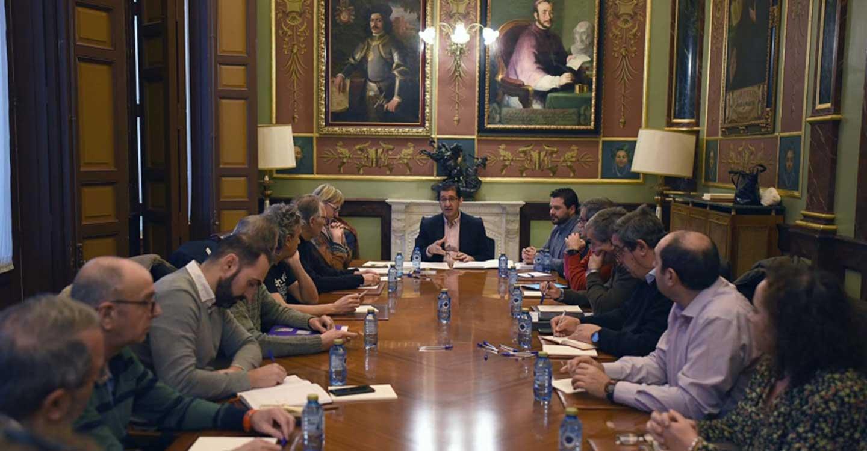 """La Diputación fortalece el """"Proyecto Geoparque Volcanes de Calatrava. Ciudad Real"""" con la constitución de un Comité Científico"""