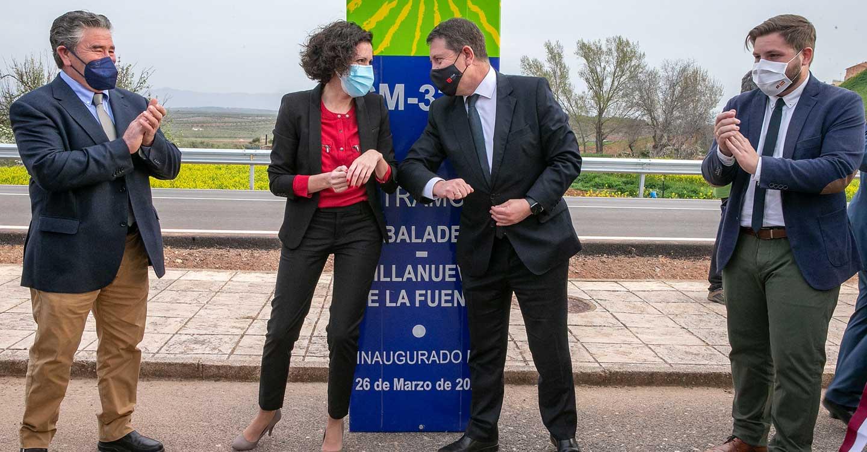 El Partido Socialista de Albaladejo agradece las inversiones que el Gobierno de García-Page ha efectuado en la localidad, la última en la carretera CM-3202