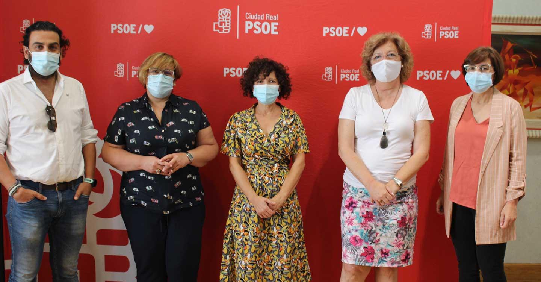 """El grupo socialista de Almodóvar del Campo agradece que la Junta y la Diputación de Ciudad Real se hayan """"volcado"""" con la localidad cuando más se necesita"""