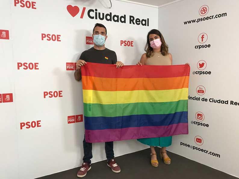 """El PSOE provincial pone en valor la colaboración de las instituciones con las asociaciones LGTBI para """"llenar la provincia de Orgullo"""""""