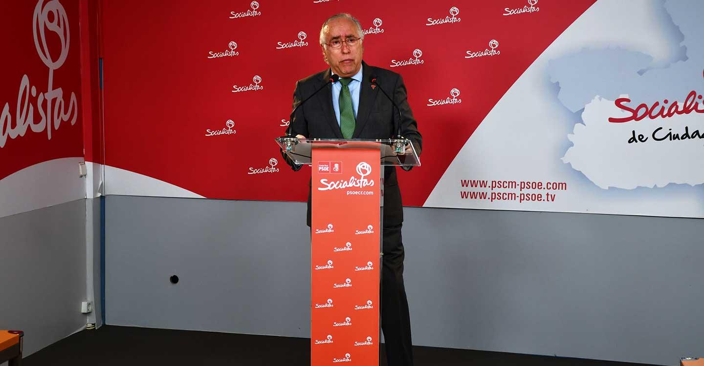 """El PSOE recuerda a Núñez que """"el mayor ataque al municipalismo se perpetró durante el gobierno del PP en Castilla-La Mancha"""""""