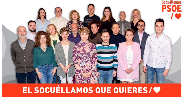 """El PSOE da a conocer su candidatura para las municipales en su Boletín de abril """"Progreso"""""""