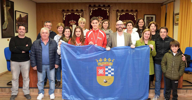 Queralt Criado y Eleazar Cantón se proclaman campeones de Castilla-La Mancha sub 20 de cross