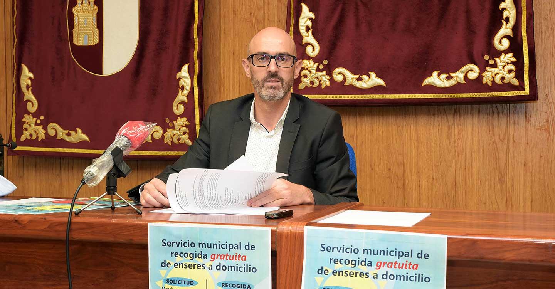 El Ayuntamiento de Argamasilla de Alba pone en marcha el servicio de recogida gratuita de enseres a domicilio
