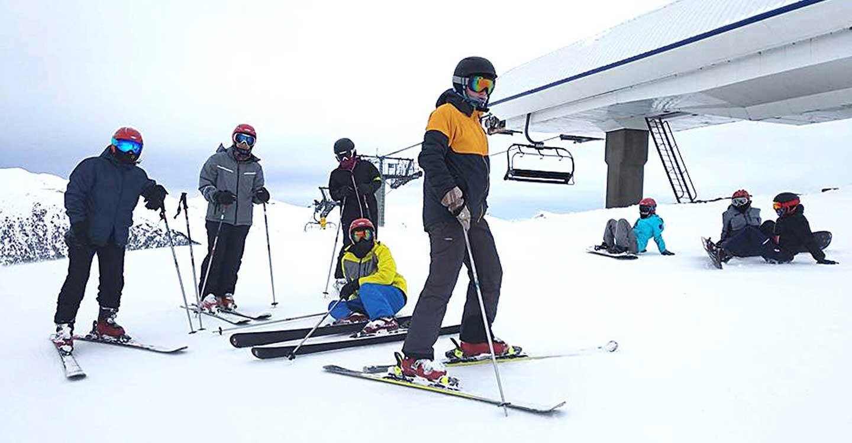 Record de participantes en el viaje a la estación de esquí de Grandvalira