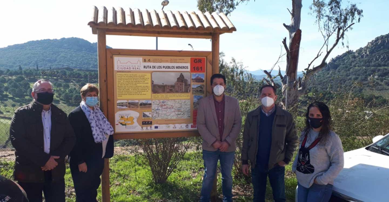 La Red Provincial de Senderos de la Diputación suma las rutas de los Pueblos Mineros y del Azogue señalizadas