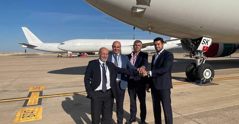 Relevo de la dirección del Aeropuerto de Ciudad Real por jubilación del que ha sido su director desde su inicio