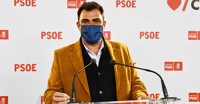"""Ricardo Calzado: """"Pese a las consecuencias de la pandemia, la provincia de Ciudad Real reduce el numero de desempleados respecto al trimestre anterior"""""""