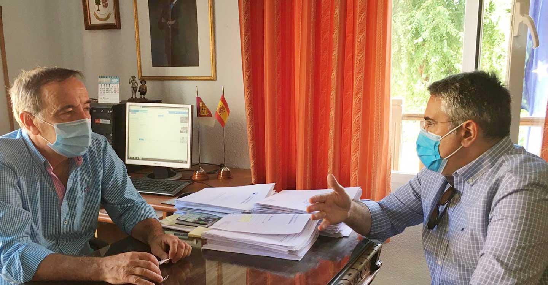 """Rodríguez: """"Durante el confinamiento, los ayuntamientos han prestado servicios a los vecinos y ahora trabajan para que la vuelta al cole se haga de forma segura"""""""
