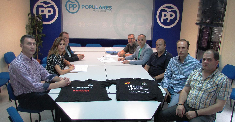 Romero exige al Gobierno que mejore, con urgencia, las condiciones profesionales de los funcionarios de prisiones