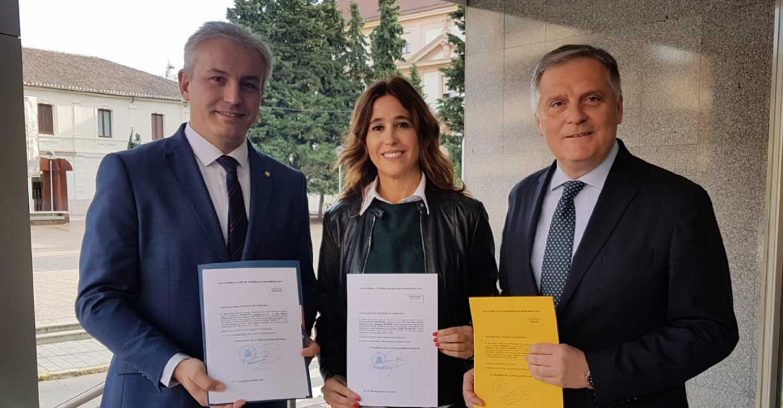 """Romero reitera el compromiso del PP con la defensa de los intereses de la provincia de Ciudad Real en una legislatura """"complicada"""""""