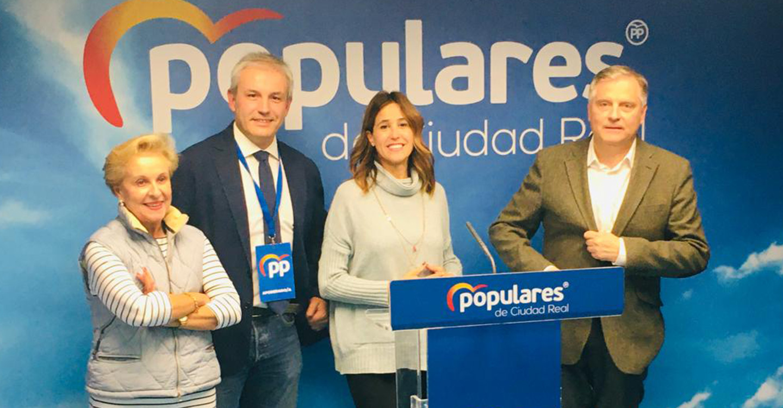 """Rosa Romero: """"El Partido Popular es el único partido que gana representación en la provincia de Ciudad Real"""""""