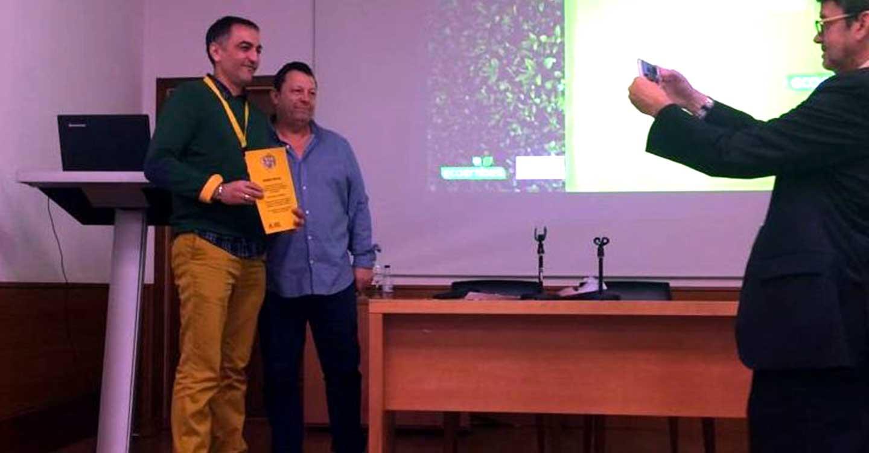 Primer premio a RSU Medio Ambiente de Ciudad Real en el Concurso de promoción de ideas enfocadas a la mejora de procesos y seguridad en las plantas de gestión de residuos