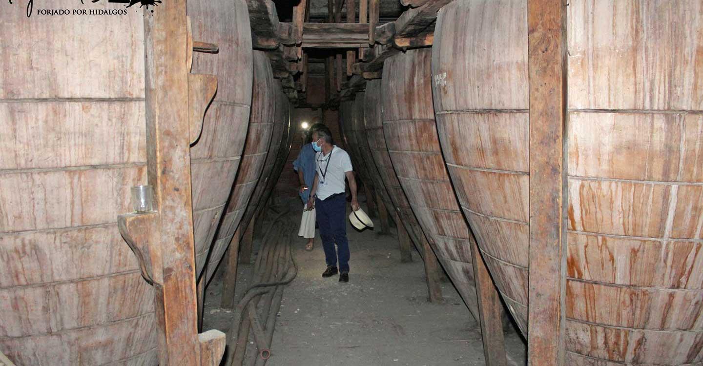 Villanueva de los Infantes muestra los tesoros que encierra el subsuelo en la Ruta de las Cuevas