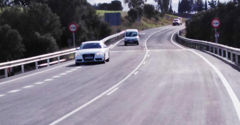 Se restablece el tráfico en la carretera CM-415 que une Saceruela con Almadén