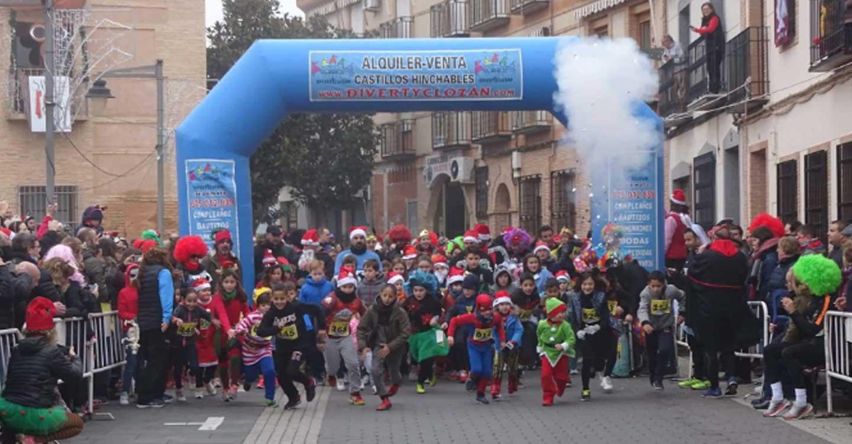 Más de 450 adultos y 180 niños participaron en la IX San Silvestre Torralbeña Grupo IDV-ITV