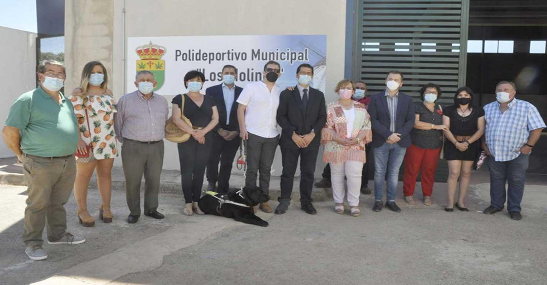 Santa Cruz de los Cáñamos dispone de una renovada pista polideportiva gracias a una inversión de 100.000 euros de Diputación y Junta