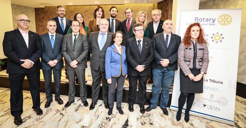 Gracias a la II Rueda Solidaria del Club Rotario de Ciudad Real 1.000 niños se vacunarán contra la polio