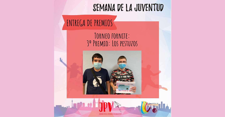 Jóvenes por el progreso en Valdepeñas celebra la entrega de premios de la semana de la juventud