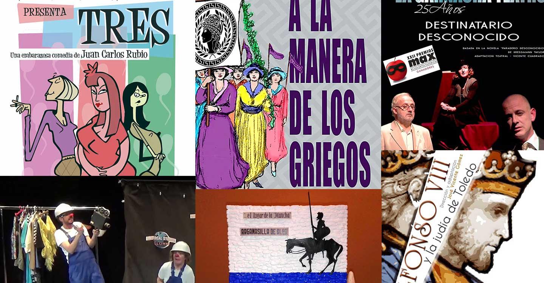 El Certamen Nacional de Teatro Aficionado 'Viaje al Parnaso' anuncia las obras finalistas de la decimocuarta edición