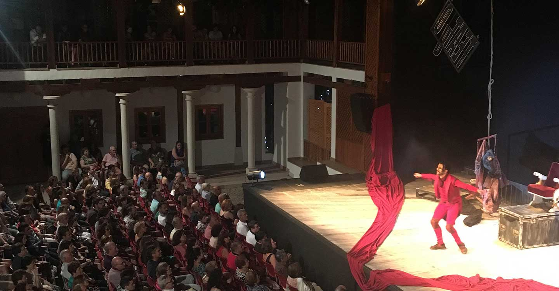 Torralba de Calatrava conmemora con 'Romeo y Julieta' los 10 años de la primera representación del Festival de Teatro y Títeres