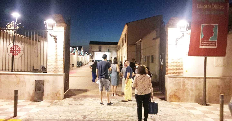 Última Sesión de Cortometrajes a Concurso del VII Festival Internacional de Cine de Calzada de Calatrava con los cortometrajes hechos en Castilla La Mancha