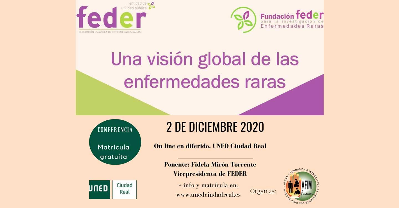 La UNED de Ciudad Real emitirá on line, el 2 de diciembre, la conferencia