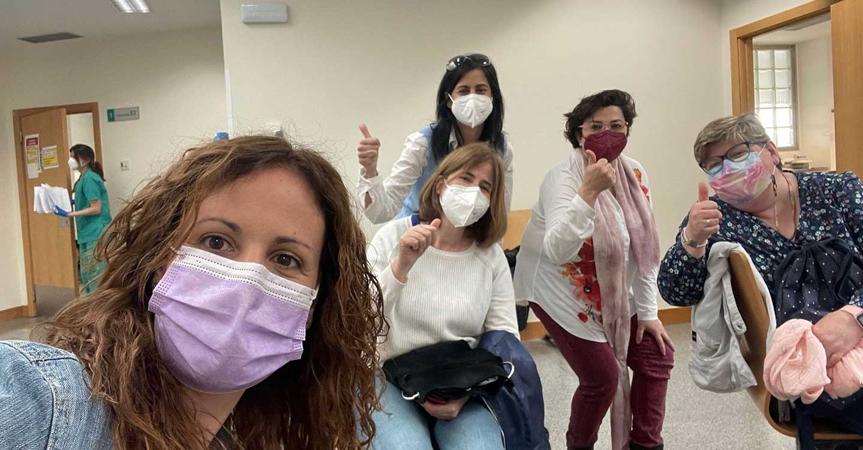 """Las educadoras de la Escuela Infantil """"Alba"""" reciben la primera dosis de la vacuna contra la COVID-19"""