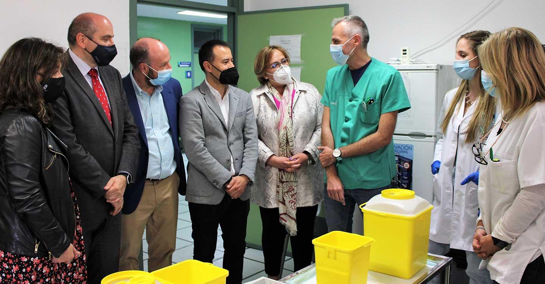 El Gobierno de Castilla-La Mancha avanza en la vacunación frente al COVID-19 de los mayores de 50 años en la provincia de Ciudad Real