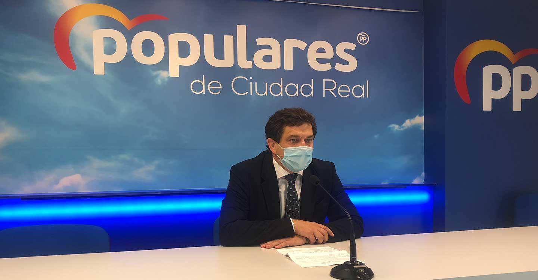 """Valverde : """" Page renuncia y rechaza que los castellano-manchegos paguemos menos impuestos"""""""