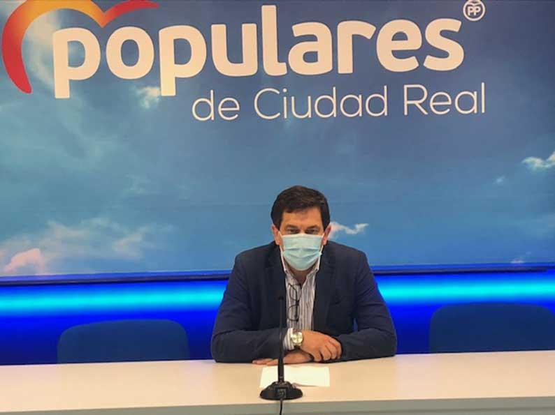 """Valverde: """"Con los gobiernos socialistas vuelve la crisis y la deuda de los ayuntamientos con el Estado que además no han tenido ninguna ayuda por parte del Gobierno de Sánchez durante la pandemia"""""""