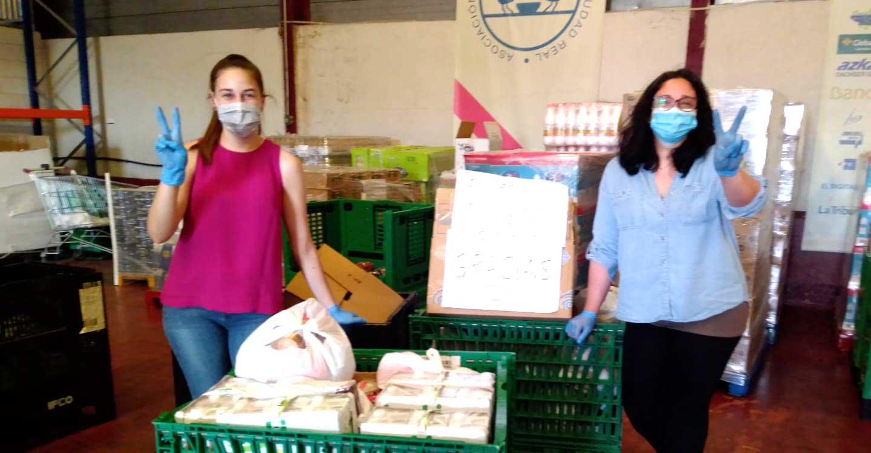 Los vecinos de Navalpino entregan 380 kilos de comida al Banco de Alimentos de Ciudad Real