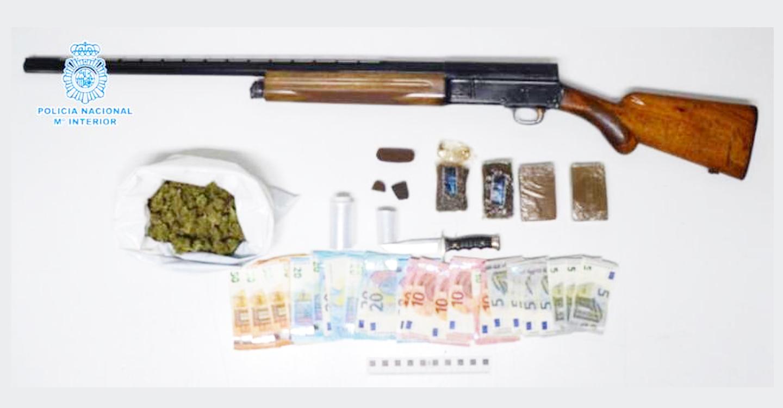 La Policía Nacional desmantela un punto de venta de droga en plena zona residencial de Ciudad Real