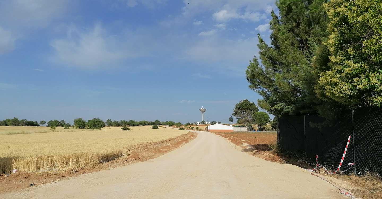 Villahermosa arregla más de 9 kilometros de caminos apoyándose en la Junta de Comunidades y la Diputación de Ciudad Real