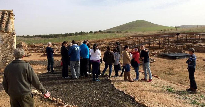 Crecen las visitas al yacimiento de Oreto y Zuqueca de Granátula de Calatrava