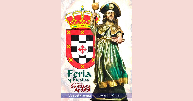 Viso del Marqués se prepara para vivir sus Ferias y Fiestas en honor a Santiago Apóstol, del 24 al 28 de julio