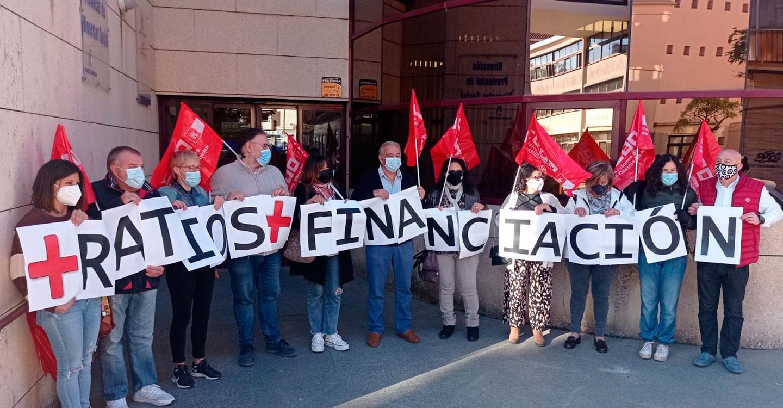 CCOO se moviliza en Cuenca para exigir a la JCCM y a las empresas y patronales de residencias privadas de mayores la dignificación del sector de la Dependencia