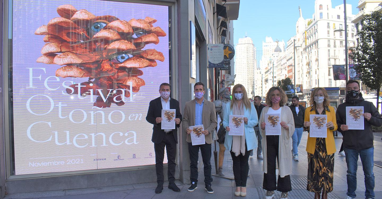 El Gobierno regional y el Ayuntamiento de Cuenca llevan a Madrid la promoción del I Festival Otoño en Cuenca