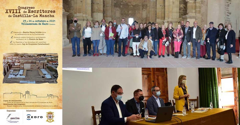 Crónica sobre el XVIII Congreso de Escritores de Castilla-La Mancha celebrado en Villaescusa de Haro
