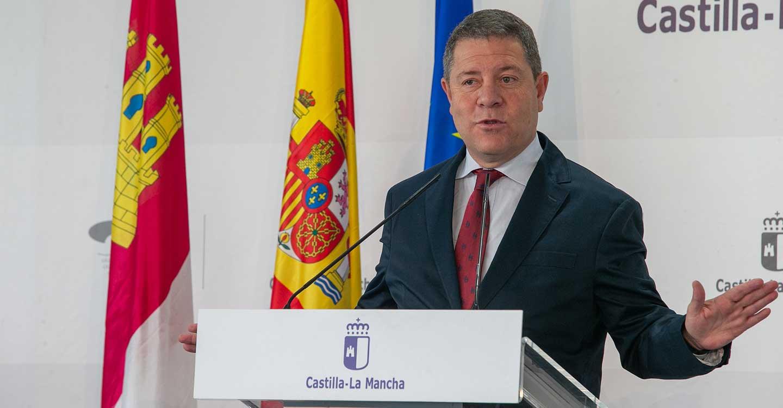 García-Page atribuye la subida de la confianza empresarial en Castilla-La Mancha al trabajo de toda la sociedad y a la estabilidad institucional